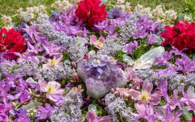 Forårs blomster mandala