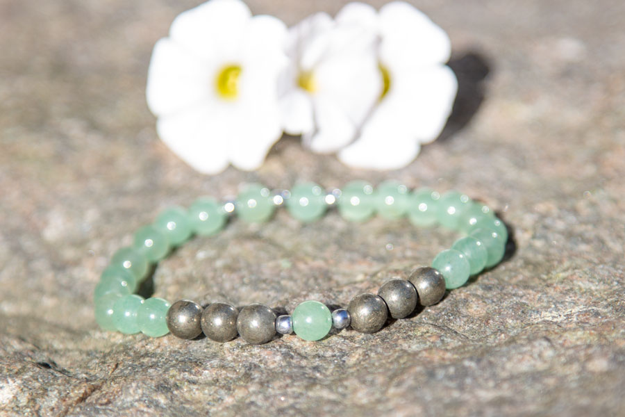 Aventurine Mala Bracelet for Joyful Manifestation