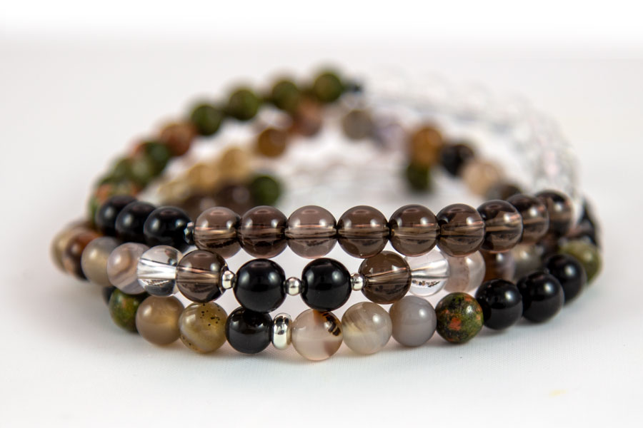 Purification Bracelet Set – purifies your energy