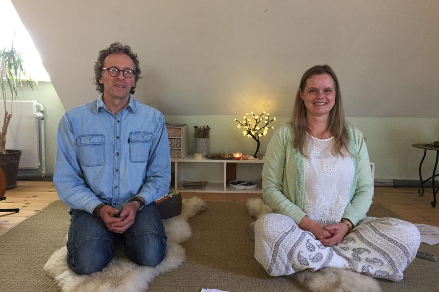 Torben og Joyann Nielsen til mantra event