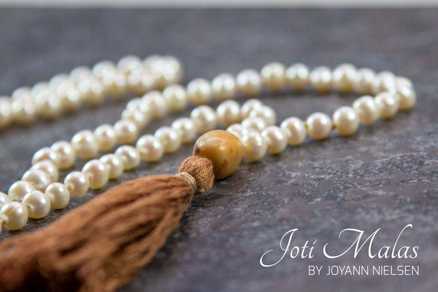 Custom made pearl mala