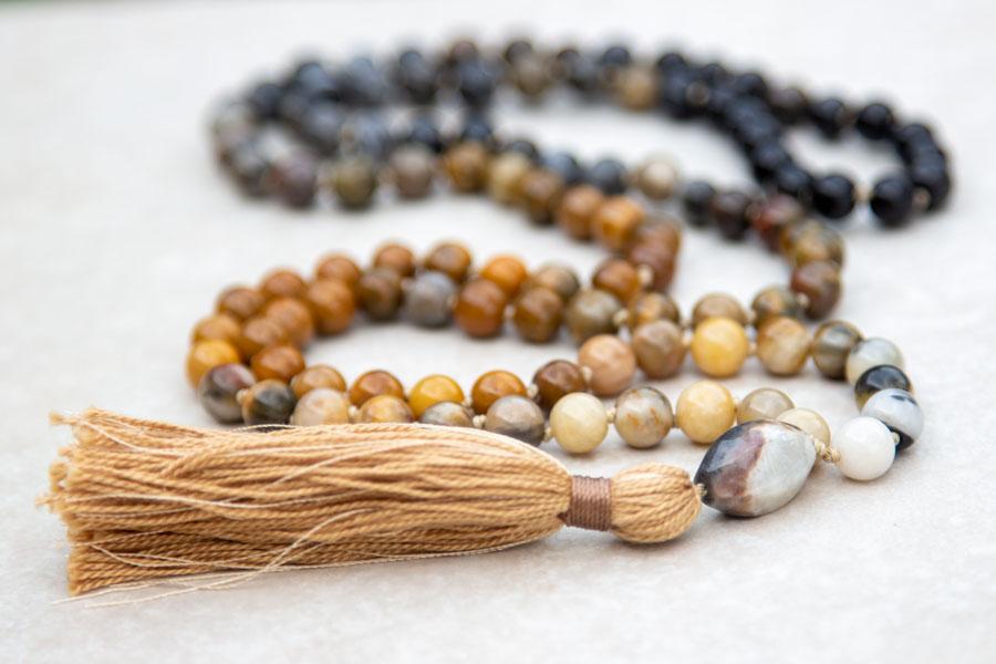 Spirituelle smykker og malas