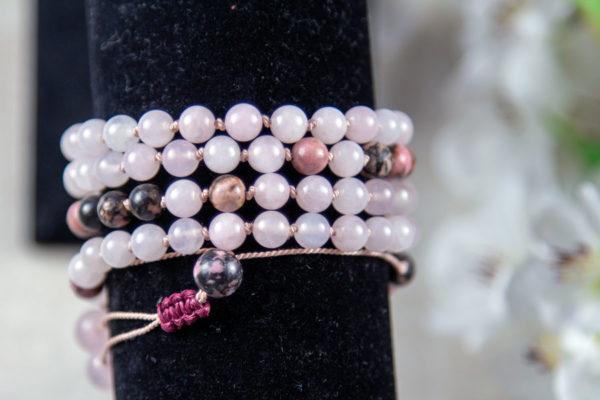 Kærligheds mala meditationskæde - mala armbånd